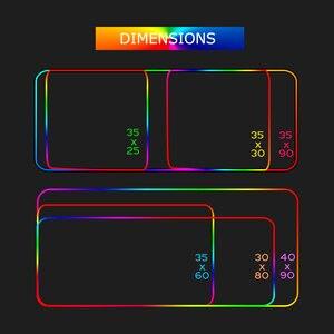 Image 5 - Asus alfombrilla de ratón Rog Deco, alfombrilla Rgb Led para videojuegos, decoración para jugadores, alfombrilla para ratón Gloway, Pc, Republic of Gamers con Cable alfombra