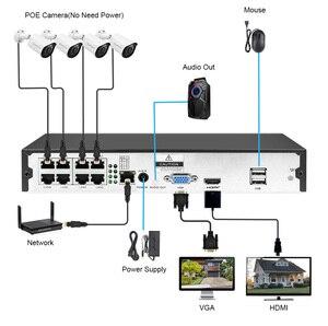 Image 5 - DEFEWAY HD 5MP POE NVR Kit 4CH/8CH 2MP POE IP Có Âm Thanh Hệ Thống Camera Quan Sát H.265 + Ngoài Trời tầm Nhìn Ban Đêm Giám Sát Video Bộ