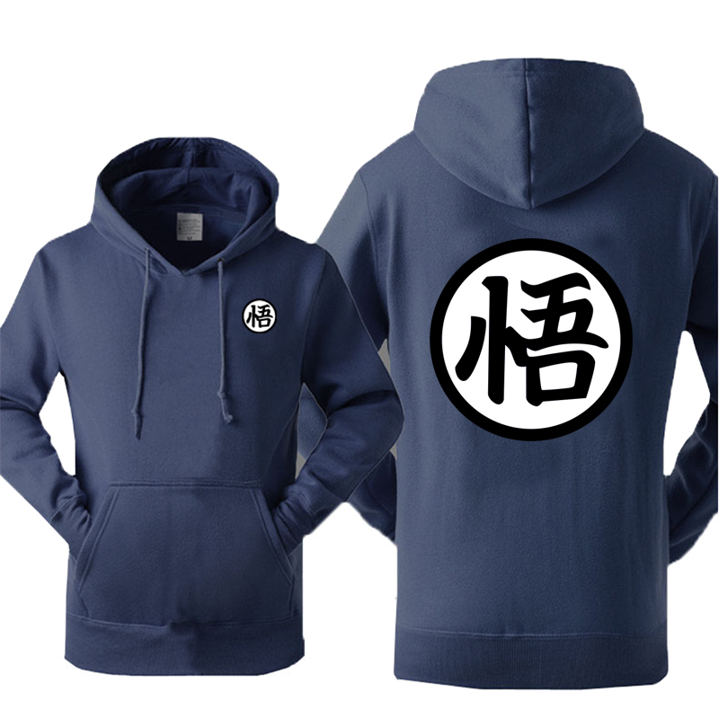 Dragon Ball Printed Hoodies Men 2020 Autumn New Sweatshirt Hoodie Men Anime Pullover Japanese Harajuku Streetwear Mens Hoody