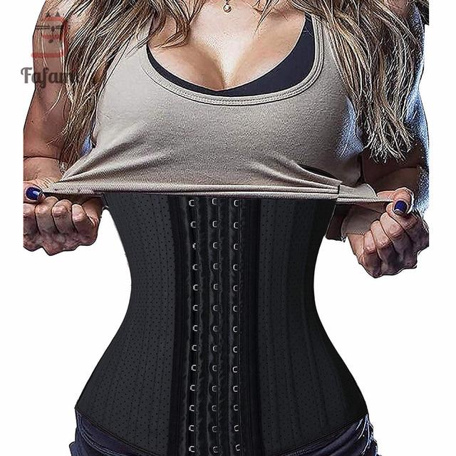 $ US $19.99 Maternity Women Latex Postpartum Waist Trainer Slimming Belly Belt Corset for Weight Loss Body Shaper wear Bandage modeling Belt