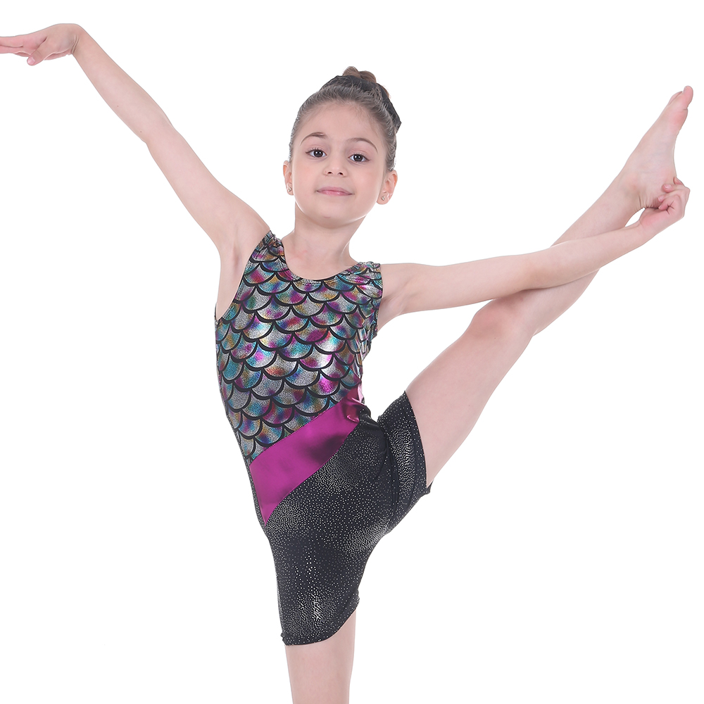 Kids Girls Ballet Dance Fitness Sports Gymnastics Leotard Unitards Costume