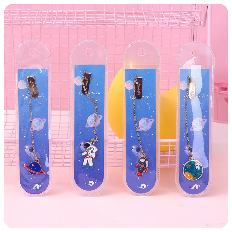 Wander Over Yonder Space Pendant Bookmark Stationery School Office Supply Escolar Papelaria