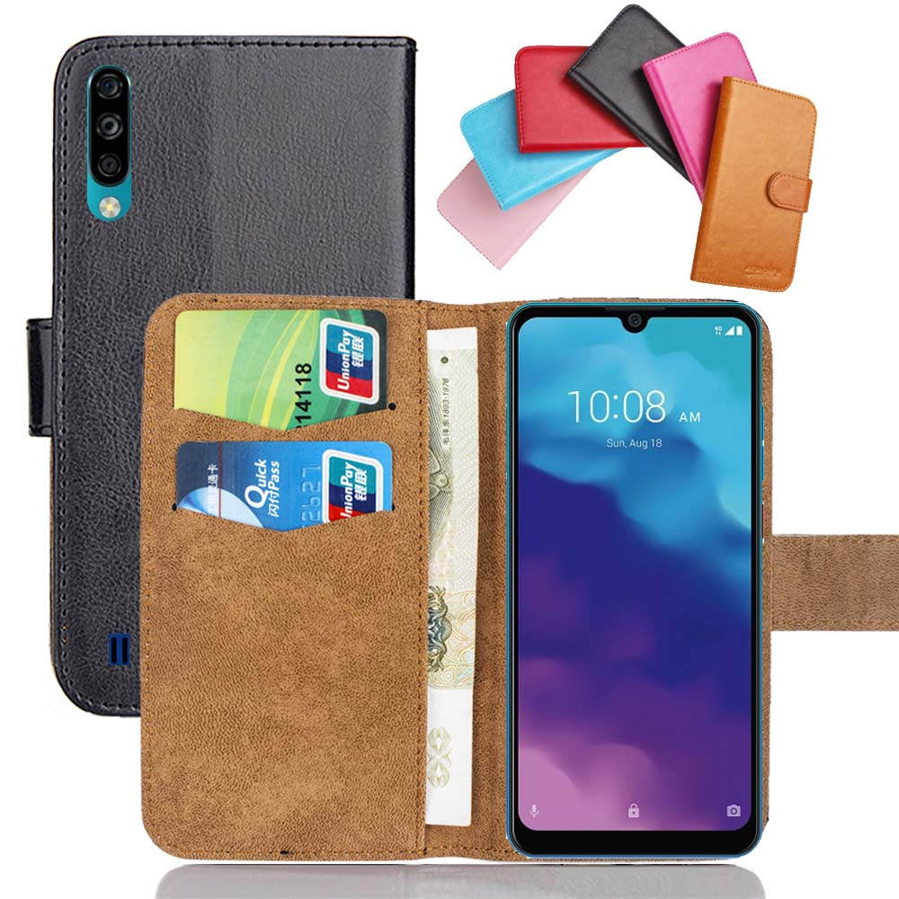 "ZTE Blade A7 2020 Case 6.09"" Flip Fashion Soft Leather Blade A 7 2020 Exclusive Phone Cover Cases Wallet Funda Coque Accessories"