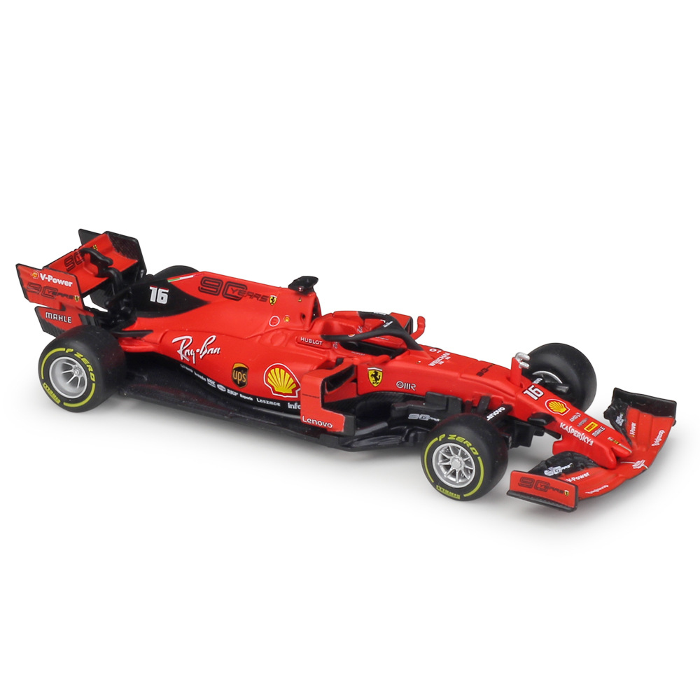 1:43 Bburago F1 2019 Ferrar SF90 Formula One Racing Die-cast Model Car