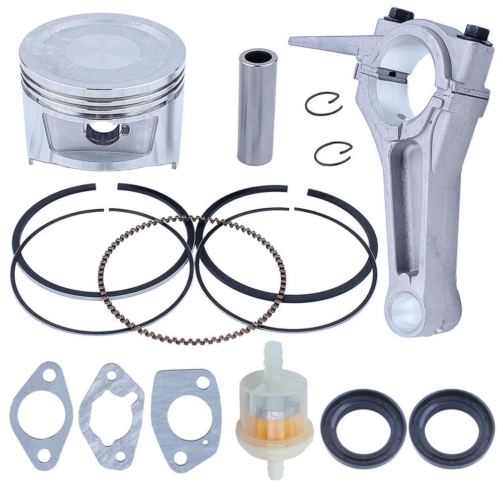 Engine Connecting Rod 88mm Piston Ring Crankshaft Oil Seal Kit for Honda GX390 188F 13HP Motor Lawnmower Trimmer 13101-ZF6-W00