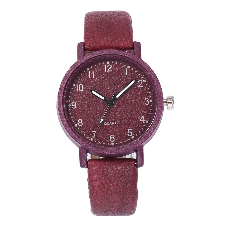 Top Brand Retro Simple Women Watches Ladies Casual Quartz Wrist Watch Leather Band Strap Watch Female Bracelet Wristwatch Clock