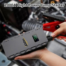 Battery Jumper Cables Power-Bank 2000A Gkfly-Car 12v Booster Hight-Capacity Emergency-Starting-Device