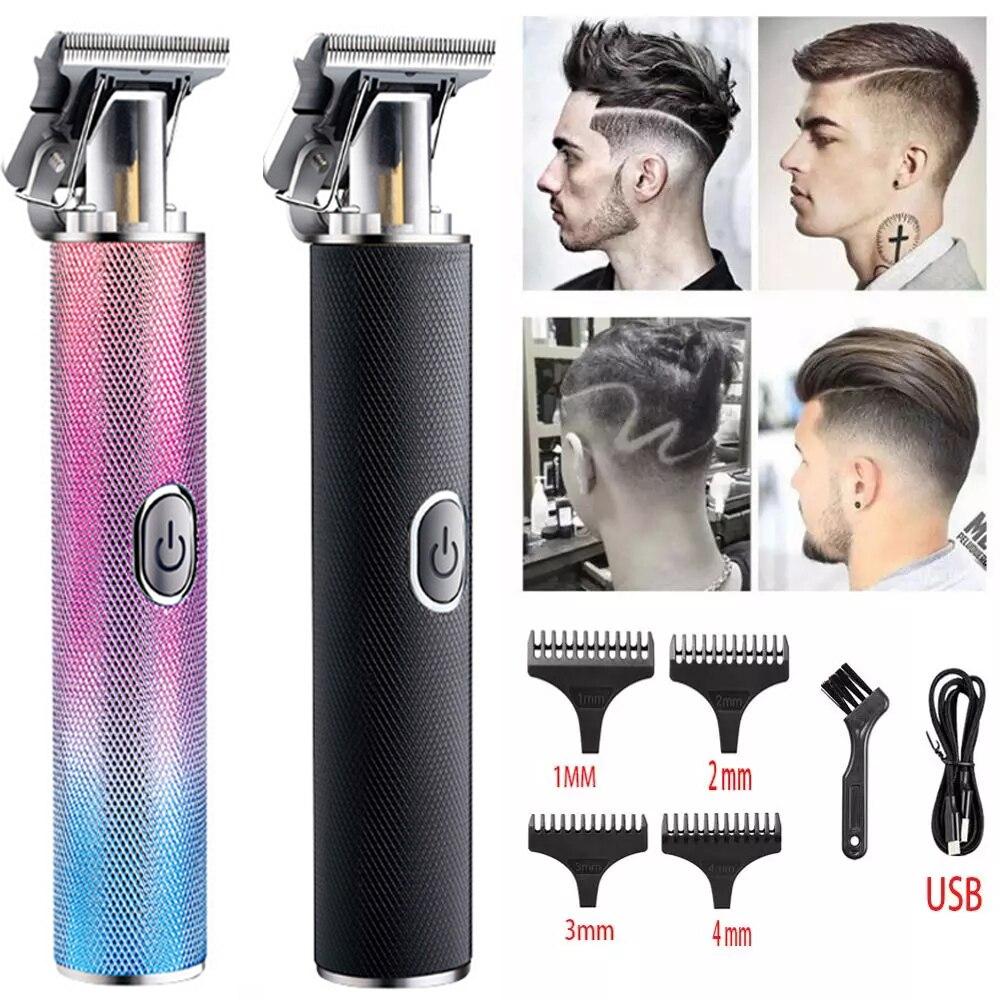 2020 New Clipper Barber Trimmer For Men Hair Clipper Beard Electric Razor Shaver Machine Short Usb Cut Professional Haircut Special Offer F65119 Cicig