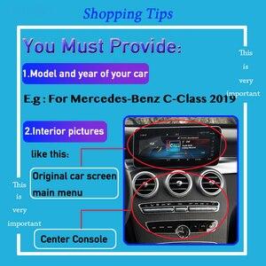 Image 2 - Ön arka görüş kamerası dekoder mercedes benz c class için W204 W205 2012 ~ % 2020 orijinal araba ekran ekran yükseltme park adaptörü