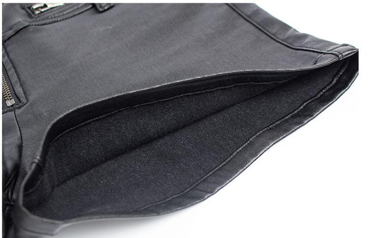 Women Sexy Mini Shorts Rivet Holes Jeans Low Waist Shorts Without Belt Ripped Denim Short 57