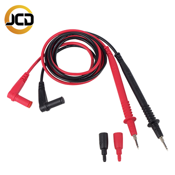 JCD Multimeter Probe Test Leads Pin for Digital Multimeter Needle Tip Multi Meter Tester Lead Probe Wire Pen Cable 20A 1000V 1 pair universal probe test leads pin for digital multimeter needle tip multi meter tester lead probe wire pen cable 10a
