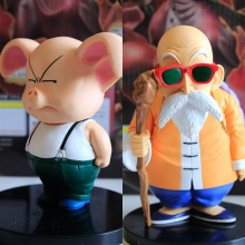 12-14cm Anime Dragon Ball Hand Model QLZ Turtle Immortal Oolong Pig Pvc Action Doll Collection Model Toy Gift for Kids Toys