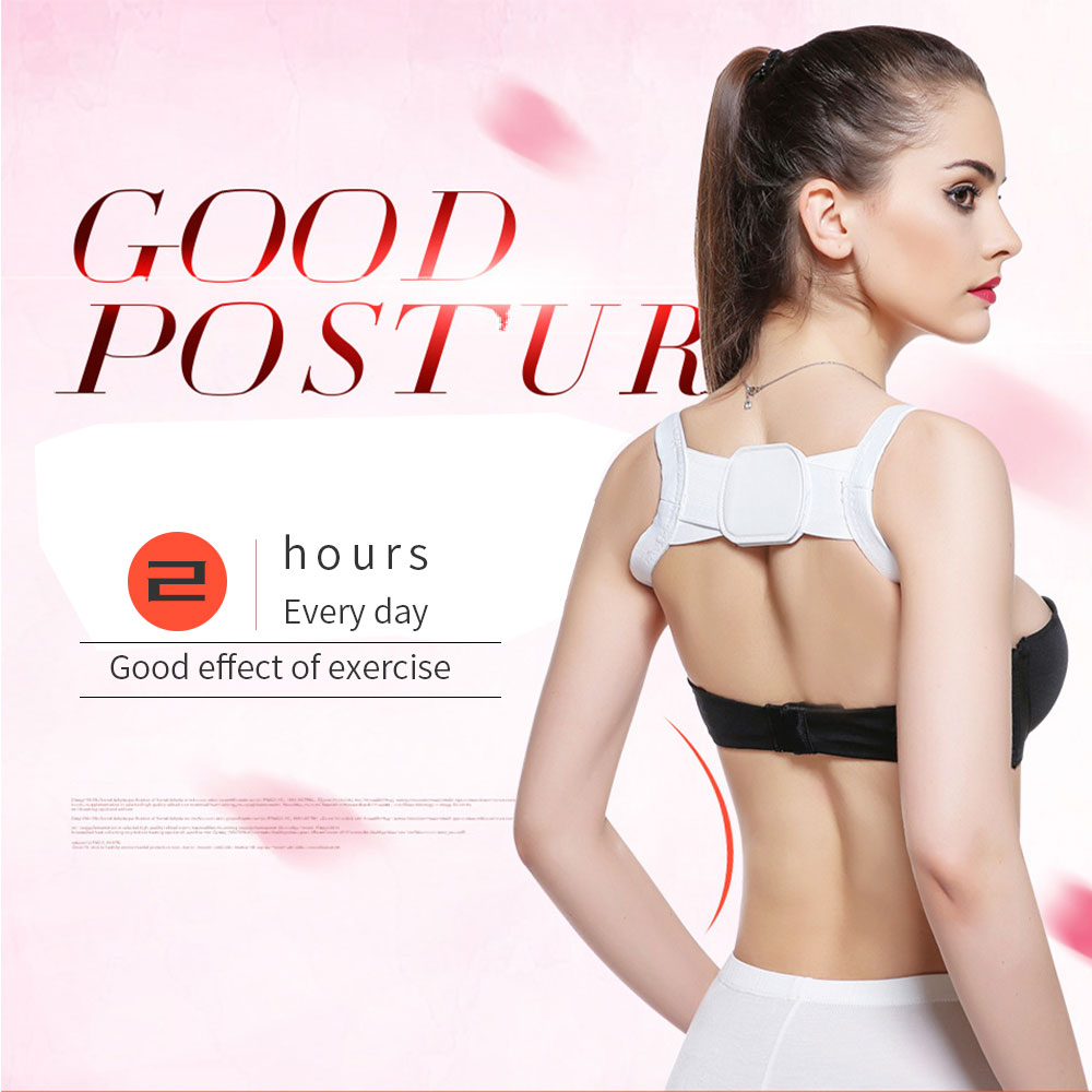 VIP Dropshipping Posture Corrector Back Support Shoulder Belt Rectify Straighten Correction Men Women Adult Children HealthCare