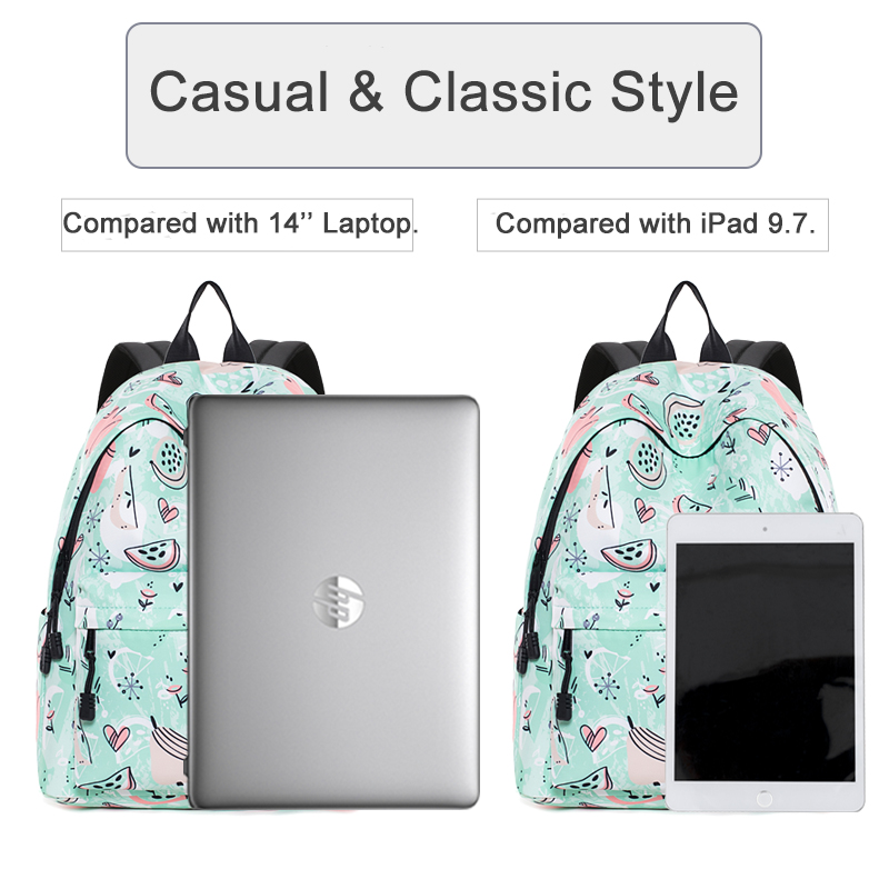 Brand New Design Fashion Backpack Women School Bag for Girls 2020 Female Trip Laptop Back Packs College Feminina Mochila Escolar