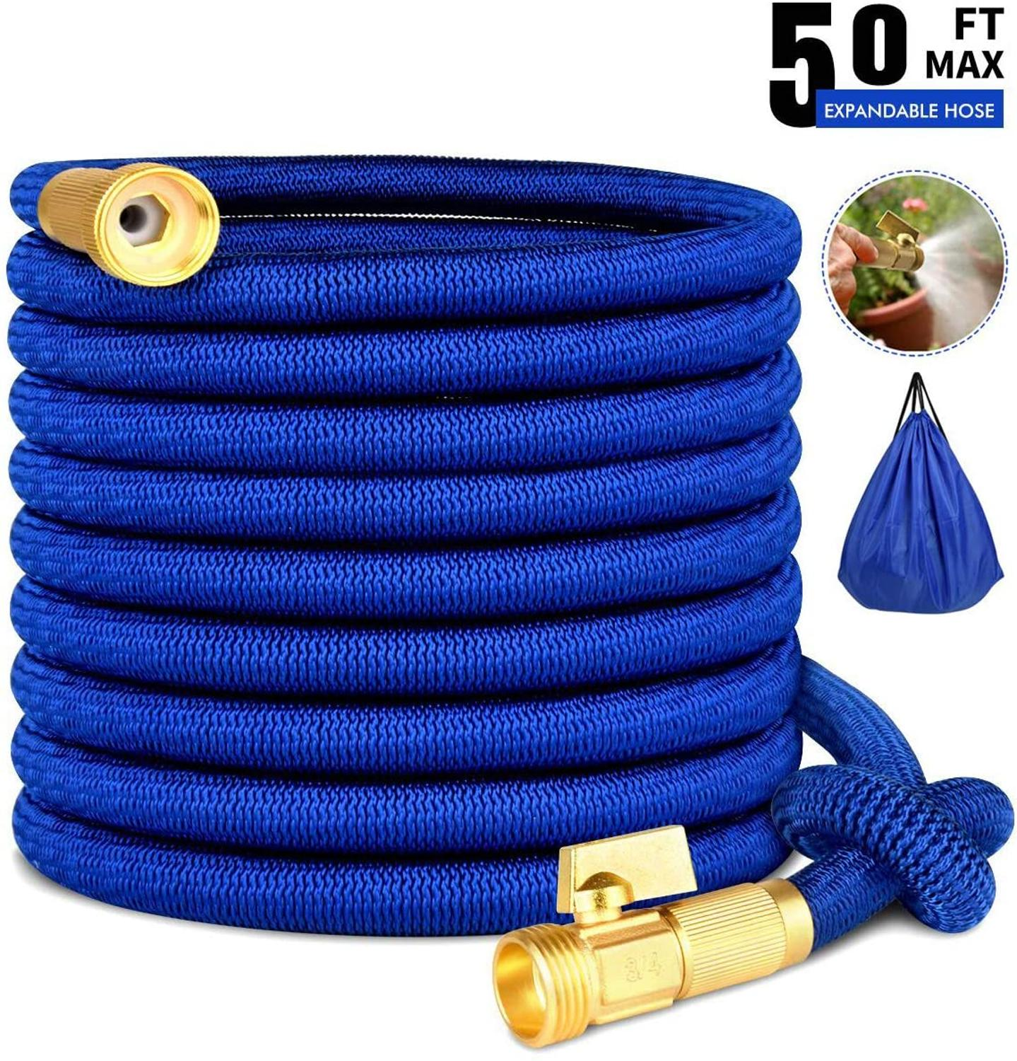 Expandable Garden Hose Flexible Drip Irrigation Tube Watering Hose High Pressure Car Wash Expandable Garden Magic Hose Pipe
