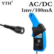 Hantek mais novo cc65 ac/dc atual braçadeira medidor de corrente braçadeira para 20khz handheld osciloscópio multímetro com conector bnc