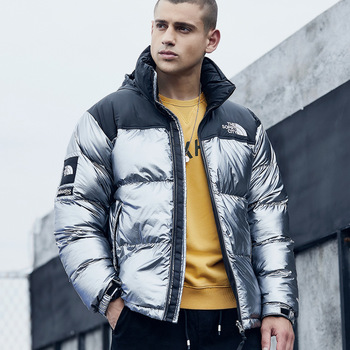 Down Feather Cotton-padded Clothes Men's New Style Thick Cotton Coat Men's Winter Cross Border MEN'S Coat