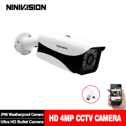 nova super ahd camera hd 4mp vigilancia ao ar livre indoor impermeavel 6 array sistema