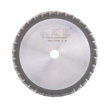 "7"" Circular Saw Blade Cutting Disc For Cutting Iron Made Products 185x20x32T High Quality"