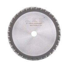 """Disco de corte de lâmina circular 7 """", disco para corte de ferro, produtos feitos 185x20x32t de alta qualidade"""