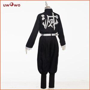 Image 4 - Uwowo Demon Slayer: Kimetsu no Yaiba Shinobu Kocho Cosplay Costume Demon Slaying Corps Uniform Man costume