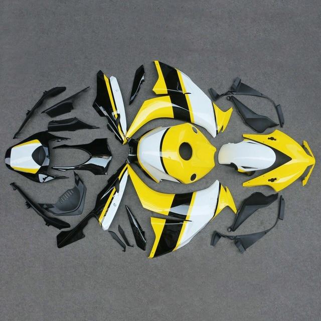 Injection plastic fairing kit for Honda CBR 1000RR 2012 2013 2014 2015 bodywork parts fairings CBR1000RR 12 13 14 15 16 yellow