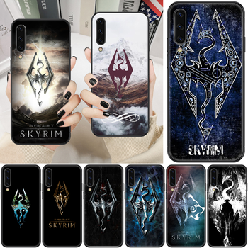 Game Skyrim Phone case For Samsung Galaxy A 3 5 7 8 10 20 21 30 40 50 51 70 71 E S 2016 2018 4G black trend cell cover silicone image