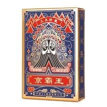 Ootdty estilo chinês peking ópera cartões de poker cultura tradicional chinesa jogo de tabuleiro cartas de jogo