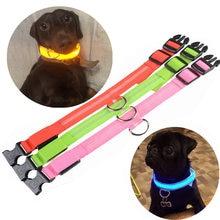 Светодиодный ошейник для собак led снабжение товары домашних