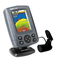 Original Phiradar FF688C Color Boat Fish Finder 240ft Depth Detection Echo Sounder Sonar Transducer Bottom Contour for Fishing