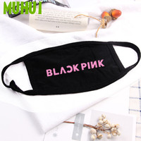 1PC Kpop BLACKPINK Members Cotton Dustproof Mouth Face Mask Unisex Cycling Anti-Dust Facial Protective Cover Masks 19404