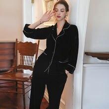 Wasteheart Зимние черные сапоги для женщин Пижама сна комплекты