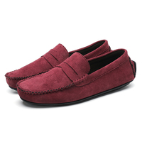 YRZL Loafers Men Flats High Quality Casual Shoes Men Light Breathable Slip-on Non-slip Daily Loafer Shoes for Men Size 45 1