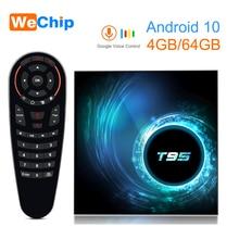 Android 10กล่องทีวีT95 Allwinner H616 Mali G31 MP2 4G 32G/64Gชุดกล่องด้านบน4K Google Voice Assistant Youtube 2G16Gกล่องทีวี