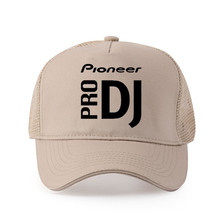 High quality pure cotton Men DJ style Pioneer Logo Printed Baseball cap Fashion Style women