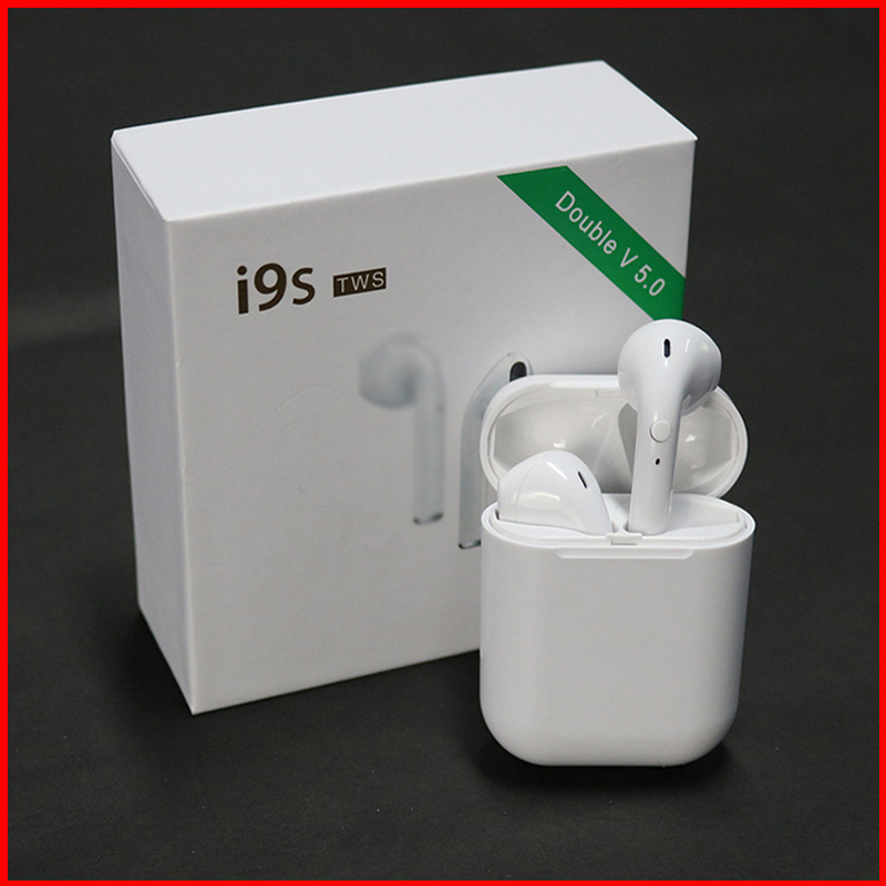 <font><b>I9S</b></font> TWS <font><b>Bluetooth</b></font> <font><b>Earphone</b></font> <font><b>5.0</b></font> Sports wireless <font><b>earphone</b></font> for iphone X 8 7 Plus Earbuds with Mic For Android Phones image