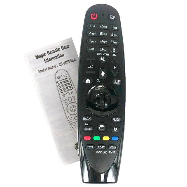 Novo original/genuine AN MR650A akb75075301 controle remoto para lg magic controle remoto mam63935971 mandos um distancia
