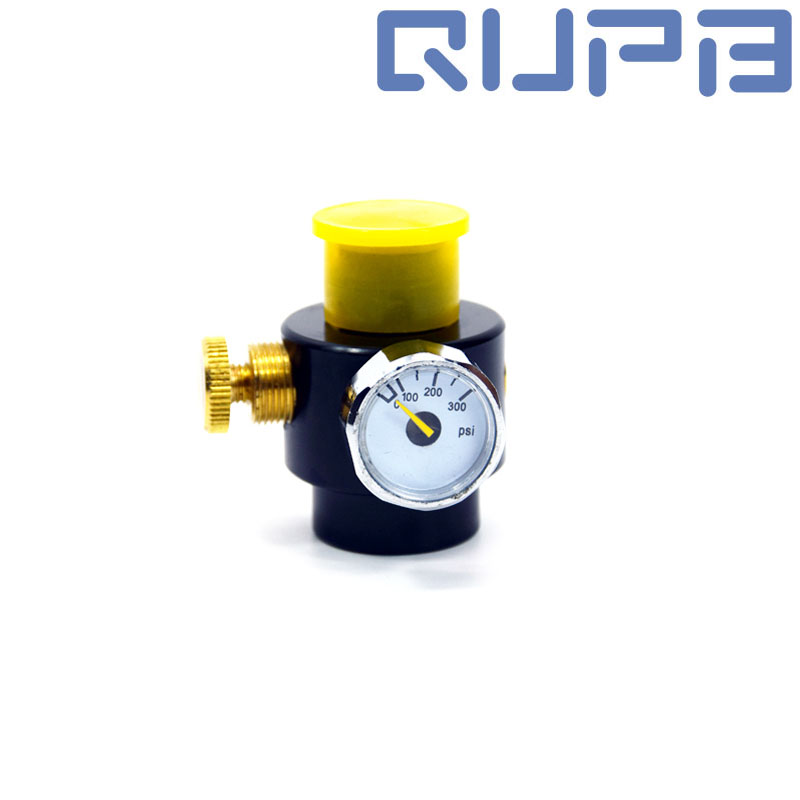 PCP Paintball Tank Adjustable Regulator Output Pressure 0-300psi/3000psi G1/2-14 Thread