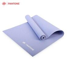 Pantone SPK8882 ПВХ коврик для йоги толщина 4 мм для старших любителей Яги 3 цвета мягкая для фитнеса Бодибилдинг йога коврики
