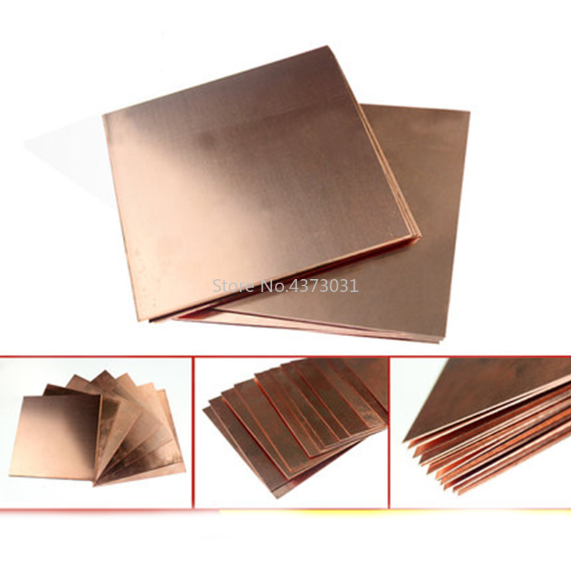 1pc-99-9-Copper-Sheet-Plate-DIY-Handmade-material-Pure-Copper-Tablets-DIY-Material-for-Industry (2)
