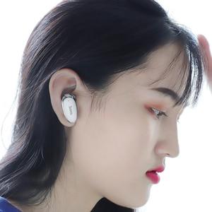 Image 5 - HOCO Invisible אפרכסת מוסיקה אוזניות Bluetooth ב אוזן דיבורית מיני אלחוטי אוזניות עם מיקרופון עבור Xiaomi 10 iPhone X