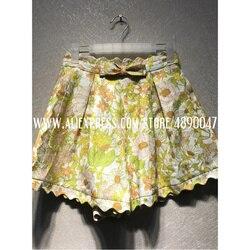 Damen floral shorts 2020 neue frühjahr und sommer damen shorts strand floral print shorts