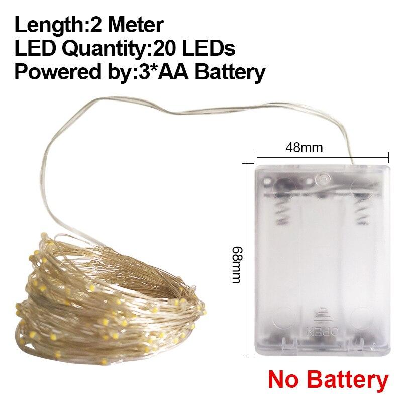 2M AA No Battery