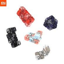 Originele Xiaomi Mitu Kleur Spinner Vinger Bakstenen Intelligentie Speelgoed Slimme Vinger Speelgoed Anti angst Decompressie Speelgoed Volwassenen Kid