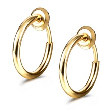 Clip On Earrings Fake Earrings Non-Pierc