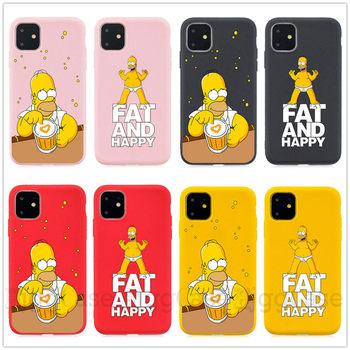 Cute Cartoon Simpson etui na telefon etui na iphone #8217 a 6 S 6 S 7 8 Plus etui silikonowe miękkie etui tpu etui dla iphone #8217 a x XS MAX XR 11 Pro MAX tanie i dobre opinie HjggCase Aneks Skrzynki Soft silicone Odporna na brud Anti-knock Apple iphone ów Iphone 5 Iphone 6 Iphone 6 plus IPHONE 6S