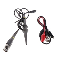 DIY DSO138 Digital Oscilloscope 1Msps Kit with P6100 Probe Parts Diagnostic Set Z1026