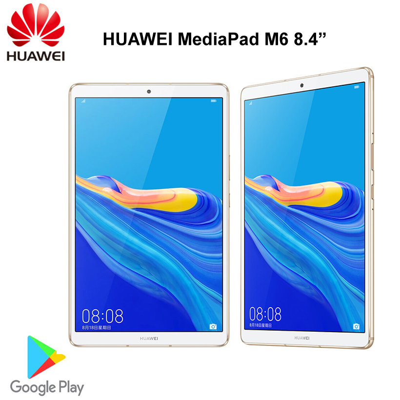 Оригинал, huawei Mediapad M6, 8,4 дюймов, 4 ГБ, 64 ГБ, wifi, планшетный ПК, Kirin980, четыре ядра, Android 9,0, Google play, 6100 мАч, type C, 2560x1600