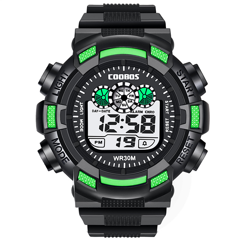 Sports Kids Electronic Watch Waterproof Digital Wristwatches Children Girls Boys Luminous LED Relogio Infantil New Clock Relogio