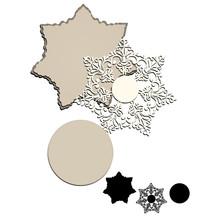 GJCrafts Christmas Dies Snowflake Metal Cutting Dies New 2019 Scrapbooking Album Card Making Embossing Stencil Decor Diecuts